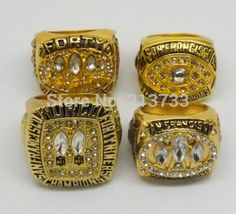 1981 1984 1988  1994 all San Francisco 49ers Super Bowl replic championship rings US Size 11 on sale