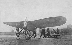 Ovington's Bleriot Monoplane, Aviation Meet, Chicago, Illinois, 1911 by Ruslan