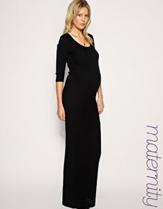 Modest maternity dress
