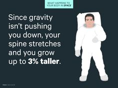 Our bodies evolved on Earth, so they're not built for weightlessness — which is why NASA plans to use Kelly to study the effects of spaceflight on the body.