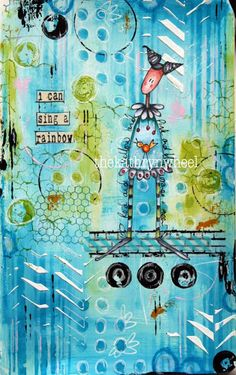 Journal Play :-) - Kathryn Wheel - 6th August 2015