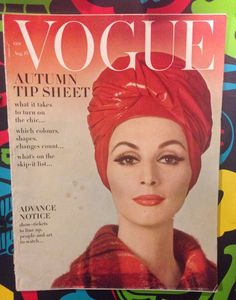 RARE Vogue MAGAZINE /August  1962 | eBay