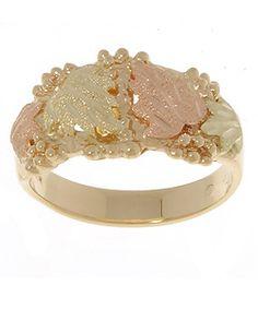 Gold Chains For Men Black Hills Gold Traditional Ring - Enchanted Jewelry, Black Hills Gold Jewelry, Gold Chains For Men, Gold Diamond Rings, Gold Rings, Diamond Jewelry, Pretty Rings, Jewelry Trends, Jewelry Ideas
