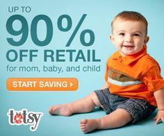 Fun Shopping and BIG Savings with Totsy