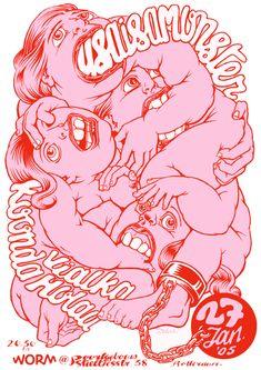 Poster by Zeloot! Illustration Design Graphique, Illustration Inspiration, Japon Illustration, Art Graphique, Graphic Illustration, Digital Illustration, Graphic Design Posters, Graphic Design Inspiration, Graphic Art Prints