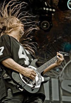Slayer / Jeff Hanneman Jeff Hanneman, Heavy Metal, Music Instruments, Guitar, Heavy Metal Music, Musical Instruments, Guitars