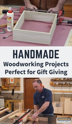 Get woodworking video instruction, expert tips, and inspiration from the Woodworkers Guild of America. Improve your woodworking skills and projects. Learn step-by-step from our team of experts. Woodworking Projects That Sell, Woodworking Videos, Woodworking Furniture, Diy Wood Projects, Furniture Projects, Woodworking Shop, Woodworking Crafts, Woodworking Plans, Wood Crafts