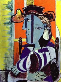 Pablo Picasso, 1937 Femme assise aux bras croisés