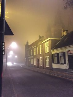 The Netherlands is starting to look like silent hill