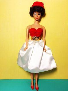 Silken Flame Brunette Reproduction Barbie Doll #Mattel Vintage Barbie Dolls, Barbie Collection, Poppy, Collections, Friends, Fashion, Moda, Fashion Styles, Fashion Illustrations