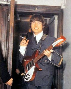 John With Instruments LennonThe BeatlesBeatles
