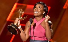 "I was really rooting for Uzo Aduba on Sunday at the 2015 Emmys Awards. The actress was nominated for Supporting Actress in a Drama Series for her work on Orange is the New Black as Suzanne ""Crazy Eyes"" Warren, and, with respect to Joanne Froggatt,… Orange Is The New Black, Taryn Manning, Uzo Aduba, Taylor Schilling, Viola Davis, Jon Hamm, Acceptance Speech, John Legend, Inevitable"