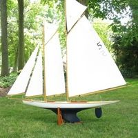 davidquerin - Gallery - MyFleet - pond yacht - model sailboat - vintage model yacht