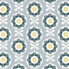 pop flower Art Print by rachelcave Graphic Patterns, Print Patterns, Fabric Patterns, Pattern Paper, Pattern Art, Cute Wallpaper Backgrounds, Wallpapers, Retro Fabric, Retro Pattern