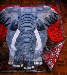 Your place to buy and sell all things handmade Elephant Quilts Pattern, Quilt Patterns, Jennifer Martin, Animal Quilts, Quilting, Great Gifts, Stitch, Pets, Abstract
