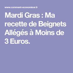 Mardi Gras : Ma recette de Beignets Allégés à Moins de 3 Euros.