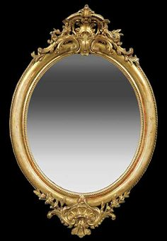 7966c0f7d6e3 Pretty Oval Wall Mirrors With Gold Carved Metal Frame As Well As Decorative Large  Mirrors Plus Large Contemporary Wall Mirrors of Cheap Beautiful Modern ...