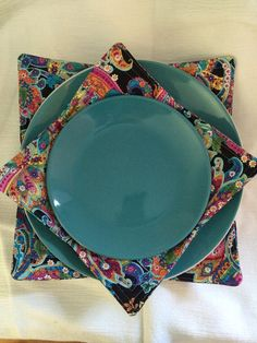 Items similar to and microwave plate cozy on Etsy & Microwave Plate Cozy Microwave Plate Holder Potholder Plate ...