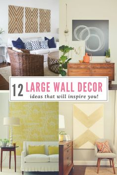 How To Decorate A Large Wall Favorites Modern Wall Decor Dining