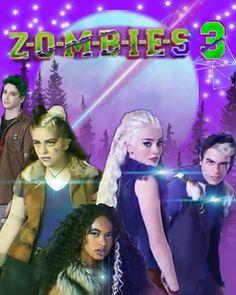 New Movies, Disney Movies, Dov Cameron, Zombie Cheerleader, Chandler Kinney, Meg Donnelly, Zombie Disney, Zombie Movies, Zombie Party