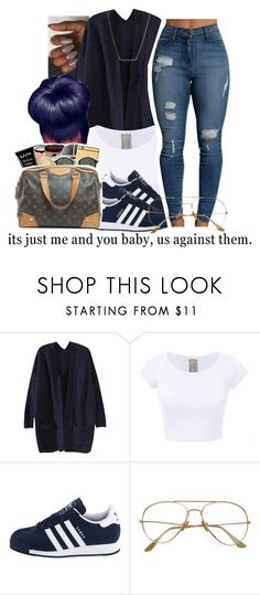 """""""untitled #100"""" by yani122 ❤ liked on Polyvore featuring adidas Originals and Kate Spade"""