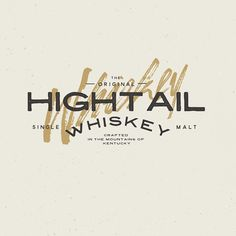 Hightail Whiskey by Peter Bacallao