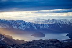 Lake Wanaka, New Zealand by Aquabumps