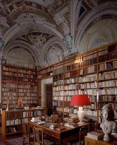 Gattaiola Villa Library (Lucca, Italy)