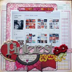 A scrapbook layout about P a fun Project Life Scrapbook, Scrapbook Blog, Disney Scrapbook Pages, Scrapbook Page Layouts, Scrapbook Paper Crafts, Scrapbook Cards, Scrapbooking Ideas, Scrapbook Photos, Journal Ideas Smash Book