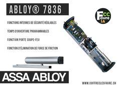 Abloy® 7836 - Un accès libre sur portes lourdes. #FERMEPORTE #DA400 #ASSAABLOY #OUVREPORTE #SECURITE #GENEVE
