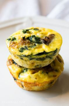This delicious crustless mini quiches recipe features turkey sausage and veggies and reduced fat cheese. These mini quiches are scrumptious and healthy!
