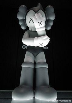Original Fake Astro Boy KAWS Version Vinyl Toy – Grey Version