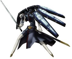 View an image titled 'Thanatos Persona Art' in our Persona 4 Arena art gallery featuring official character designs, concept art, and promo pictures. Game Character Design, Character Concept, Character Art, Concept Art, Dnd Characters, Fantasy Characters, Persona 3 Thanatos, Persona Q, Shin Megami Tensei Persona