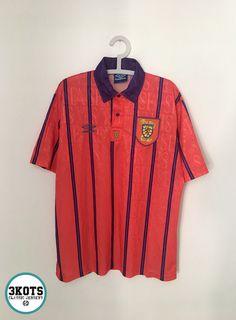 0667ba867 SCOTLAND 1993/94 Away Football Shirt (XL) Soccer Jersey UMBRO Vintage  Maglia #UMBRO #Jerseys #Scotland #Footballshirts #soccerjerseys