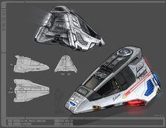 Edison Class Ryan Dening concept art for Star Trek Online Spaceship Interior, Spaceship Design, Spaceship Concept, Concept Ships, Concept Art, Spaceship Art, Star Trek Online, Star Wars, Star Trek Tos