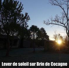 Lever de soleil sur Brin de Cocagne - Chambre d'hôtes écologique de charme dans le Tarn près d'Albi - Brin de Cocagne