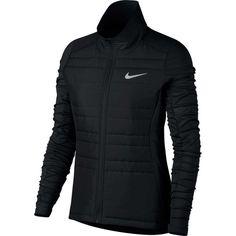 Nike Women's Essential Full Zip Running Jacket, Size: XS, Black