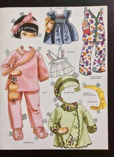 Effanbee's Patsy Paper Doll Family Book by Peggy Jo Rosamond (8 of 9), 1997 Hobby House Press
