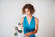 Aqua, Blush and Gold Watercolour Wedding Inspiration at Millbridge Court