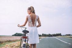 Robes de mariées courtes Lorafolk