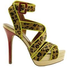 Jessica Simpson - Evangela Leopard Print Platform Sandal