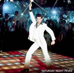 Dec 16 - in Saturday Night Fever, a movie that ignites the disco dance craze across America, along with the movie career of its star, John Travolta, opens in theaters. Best Dance Movies, Great Movies, Saturday Night Fever Movie, 70s Films, Einstein, Retro, Cinema, John Travolta, Classic Series