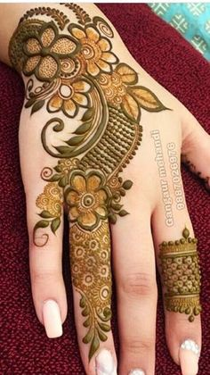 Kashee's Mehndi Designs, Modern Henna Designs, Latest Henna Designs, Floral Henna Designs, Back Hand Mehndi Designs, Mehndi Designs For Girls, Mehndi Designs For Beginners, Mehndi Design Photos, Wedding Mehndi Designs