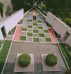 Villa Noailles - jardin cubiste.