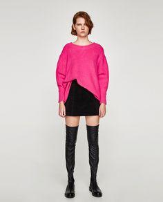 Image 1 of BOYFRIEND SWEATER from Zara