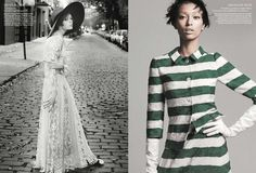 American Vogue - Retro Remix by David Sims