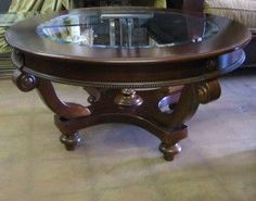 Bassett Glass Coffee Tables - Coffee tables have existed for nearly as long as any furnishings product. Best Paint For Wood, Glass Top Coffee Table, Coffee Tables, Beveled Glass, Cool Paintings, Poker Table, Wood Furniture, Chair, Furnitures