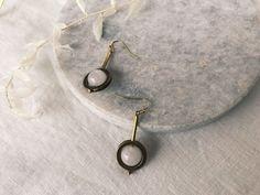 Chunky Quartz Drop Earrings Belly Button Rings, Quartz, Drop Earrings, Modern, Accessories, Jewelry, Design, Trendy Tree, Jewlery