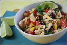 Hungry Girl's Santa Fe Chicken Salad