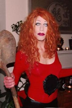 FAVORITE!   Sharon Needles serving Goldie Hawn realness in Death Becomes Her.